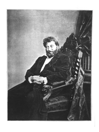 184385~Portrait-of-Alexandre-Dumas-Pere-Seated-1855-from-Les-Annales-4th-September-1904-Posters